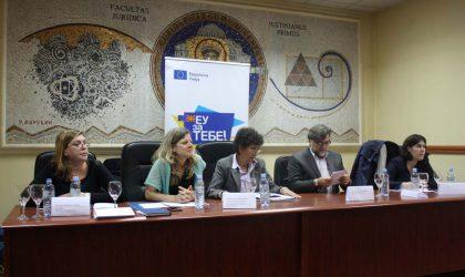 Подигање на свесноста на заедничката соработка на Советот на Европа и Европската Унија во насока на зголемена усогласеност на ордредени европски стандарди во избрани области